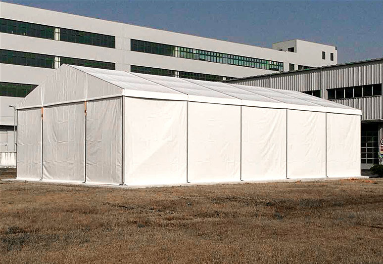Large storage tent aluminum alloy tent
