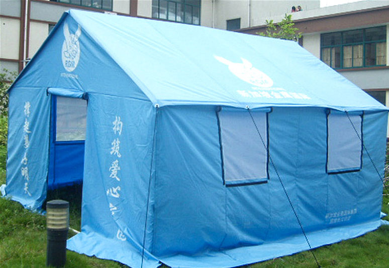 2008 Wenchuan earthquake,more than 8000pcs of relief tent
