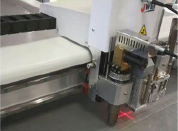 CNC-fabric cutting