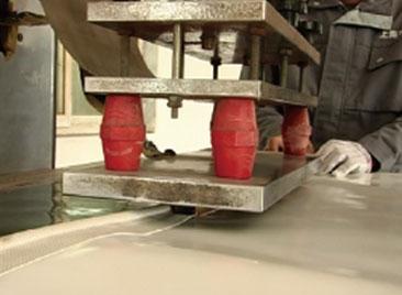 PVC-Heat sealing machine