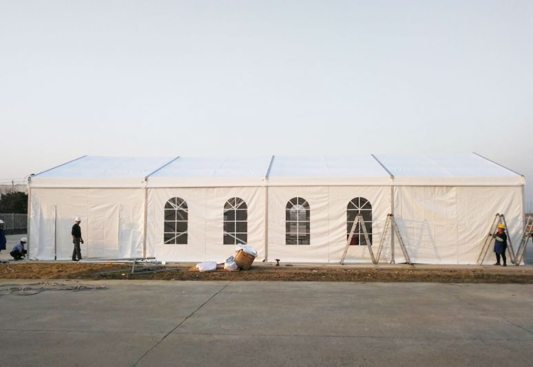Changzhou 10x15m small tent in 2018